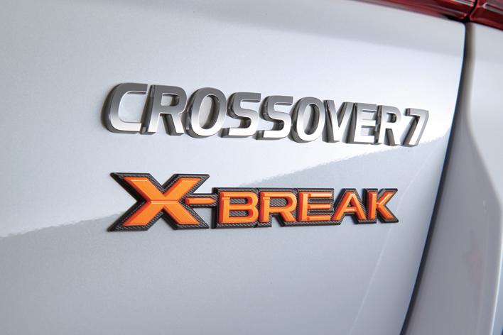 スバル クロスオーバー7 特別仕様車「X-BREAK」