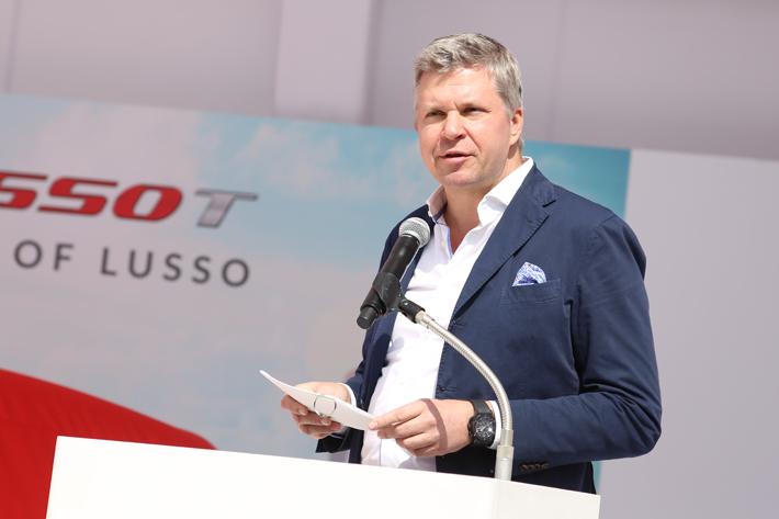 フェラーリ極東・中東エリア統括CEOのディーター・クネヒテル氏