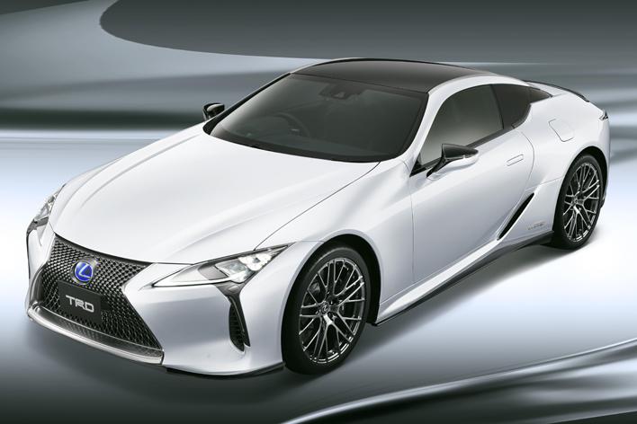 レクサス新型LC(TRDブラックエディション)