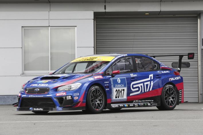 スバル WRX STIレースカー