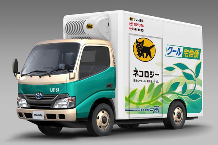 ヤマト運輸のEVトラック