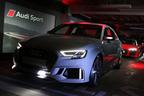 """アウディ、世界最速・最強のコンパクトセダン""""RS3 Sedan""""など3車種の新型モデルを発売"""