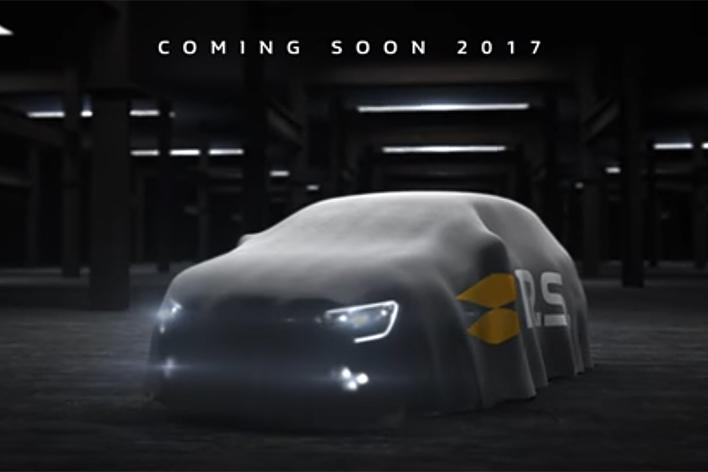 新型メガーヌR.S予告イメージ