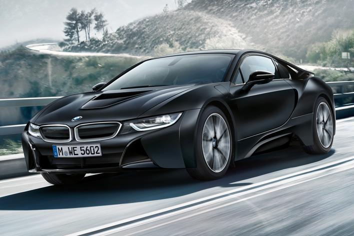 BMW i8限定モデル「プロトニック・フローズン・ブラック」