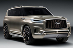 """インフィニティ、発表前に早くもフルサイズ高級SUV""""QX80モノグラフ""""の姿を公開"""