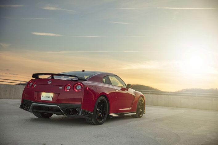 <Nissan GT-R Track Edition>(北米仕様・2017年モデル)