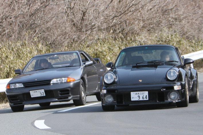 スカイラインGT-R、911ターボ