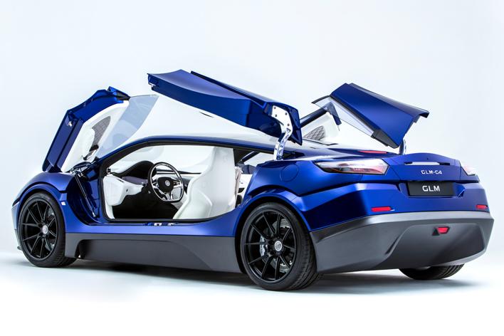 EVスーパーカー GLM G4