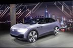 "VWが3つ目のEVモデル、クーペスタイルのSUV""I.D. CROZZ""を発表【上海ショー2017】"