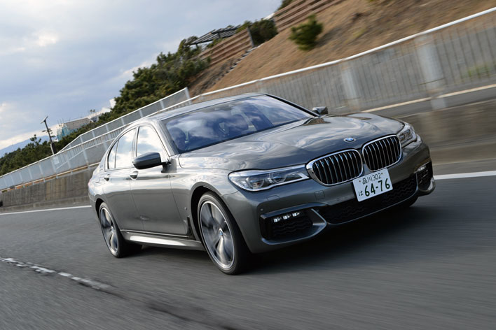 BMWの最新プラグインハイブリッド「740e iPerformance M Sport」に試乗