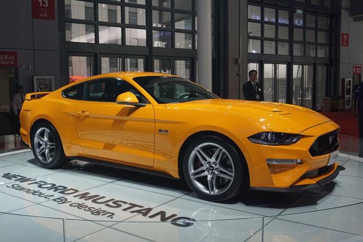 <フォードブース>MG・ローバー・サーブにフォード・・・日本で消えたあのブランドに中国で再会【上海ショー2017】