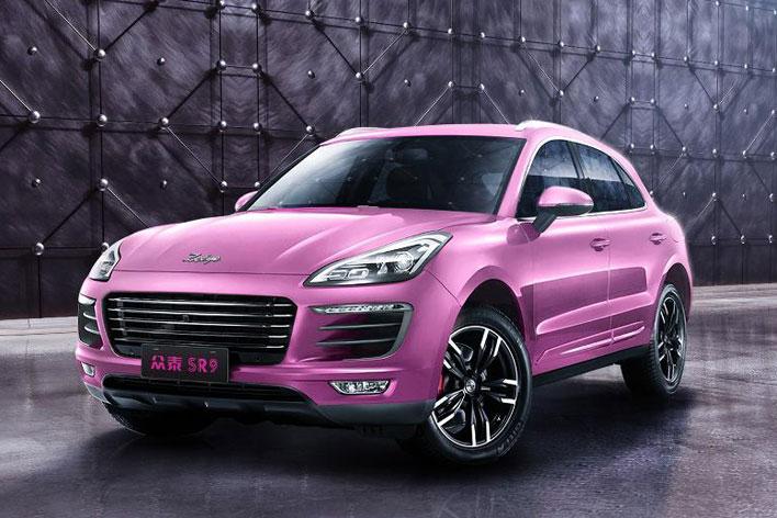 ポルシェ マカンのパクリカー「ZOTYE SR9」ピンクがインパクト大!