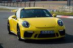 ポルシェ、新型「911GT3」がニュルでベストタイム更新!