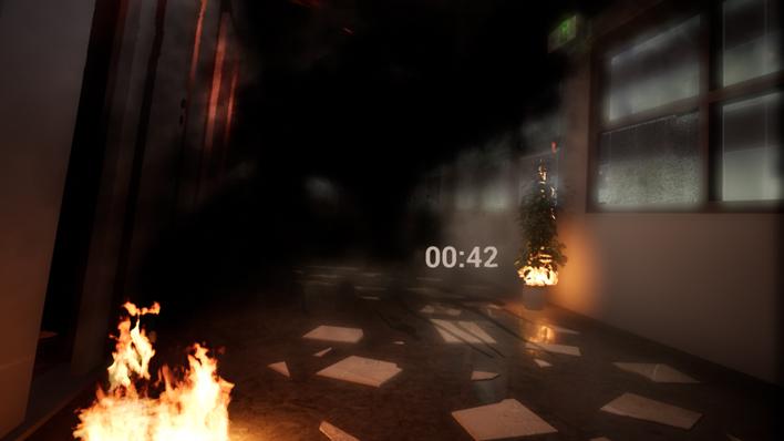 「避難体験 VR」体験映像