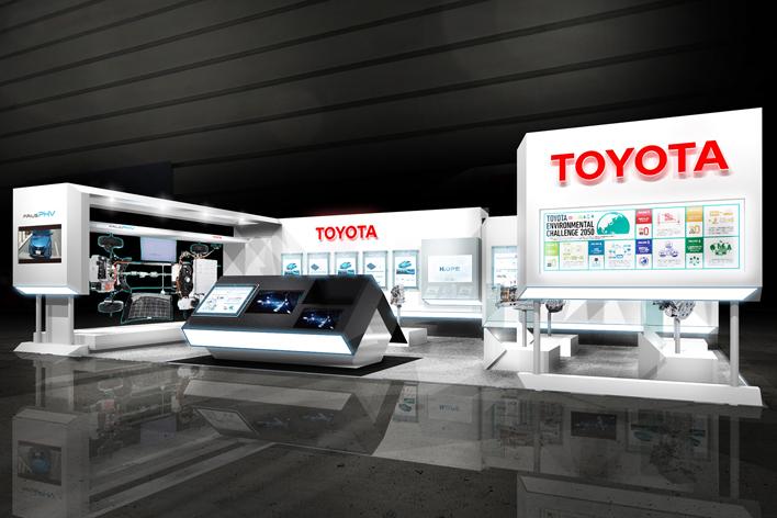 人とくるまのテクノロジー展2017横浜 トヨタブース(イメージ)