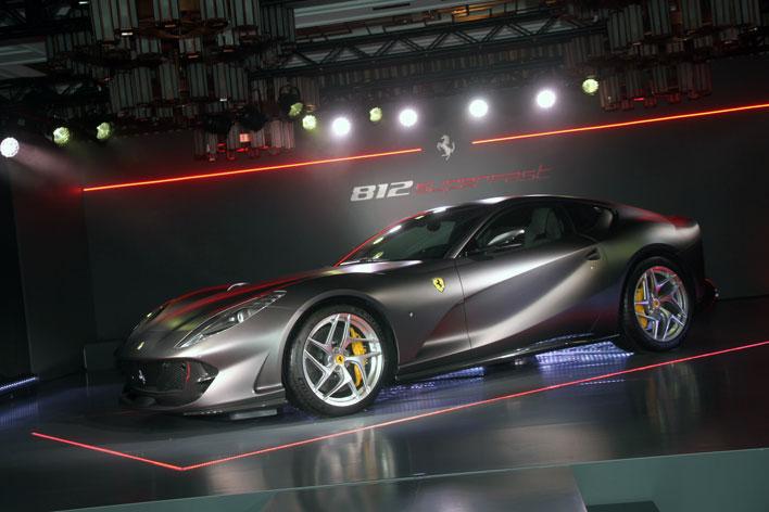 フェラーリV12モデル史上最速の「812スーパーファスト」ジャパンプレミア 発表会レポート[2017年5月23日/会場:赤坂プリンス クラシックハウス]