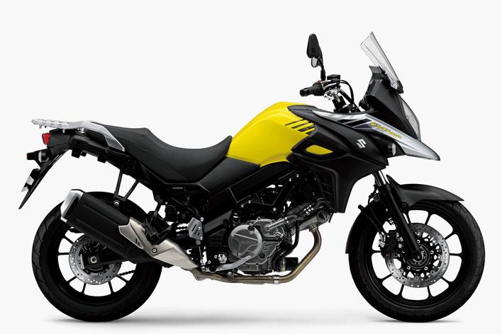 Vストローム650 ABS チャンピオンイエロー