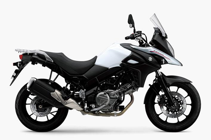 Vストローム650 ABS パールグレッシャーホワイト