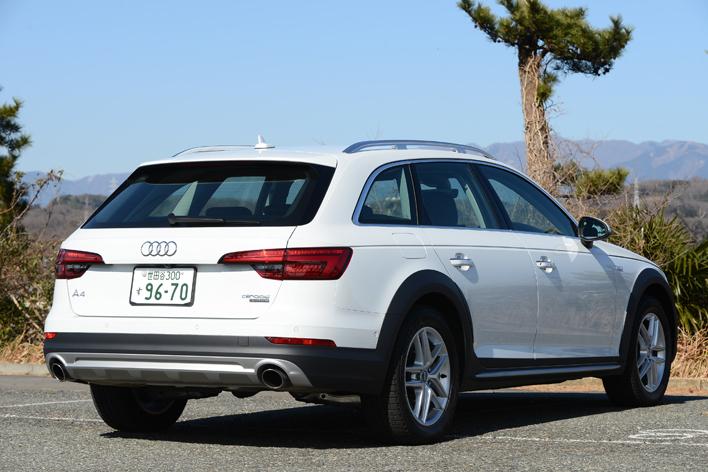 Audi A4 allroad quattro(アウディA4オールロードクワトロ) 試乗レポート/今井優杏