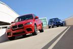 BMW初の4輪駆動Mモデル、X5 MとX6 MがM Paddockに登場