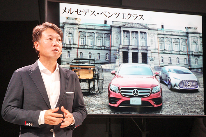 メルセデス・ベンツ日本 上野金太郎 代表取締役社長