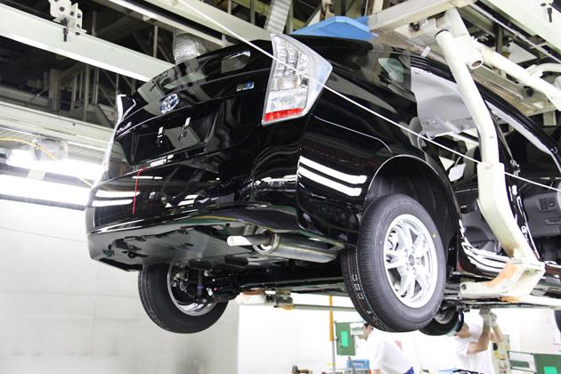 トヨタ サステイナブル・プラント 堤工場の生産ライン1