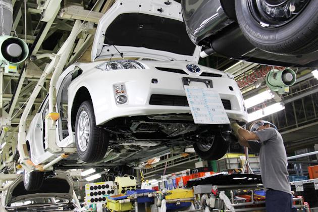 トヨタ サステイナブル・プラント 堤工場の生産ライン2