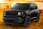 ジープ、レネゲードを黒で統一したシックな「ナイトイーグル」を200台限定販売