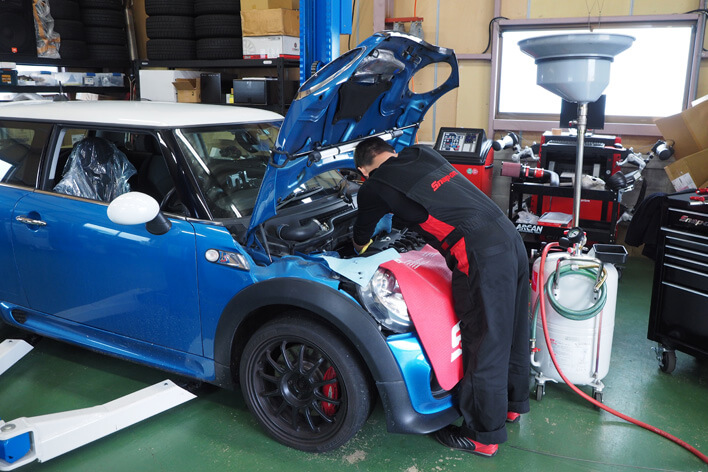 BMWやMINIの整備&カスタム専門店、Ms+factory