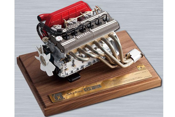 1/6スケールエンジンモデル GT-R S20 郵便局限定モデル