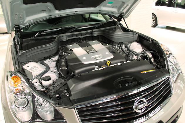 スカイライン クロスオーバー:エンジン