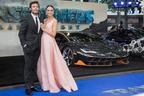 2億円超のランボルギーニが『トランスフォーマー』最新作のロンドンプレミアに登場