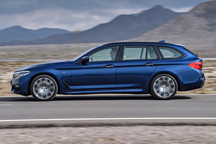 BMW 新型5シリーズツーリング