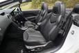 プジョー 308CC フロントシート