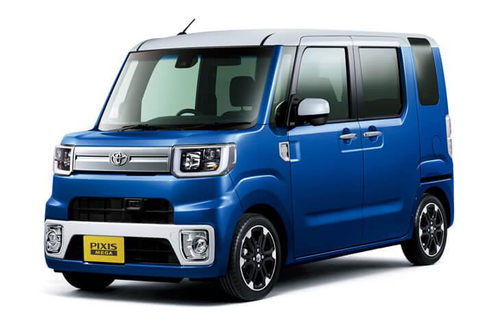 人気軽自動車ランキング第26位:トヨタ ピクシスメガ
