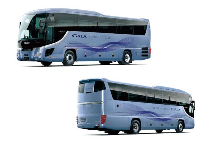 いすゞ 大型観光バス「ガーラ」