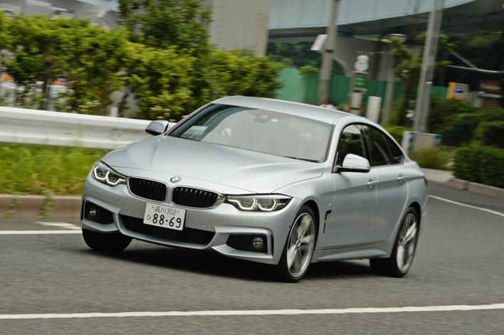 BMW 4シリーズ グランクーペ 試乗レポート 初のマイナーチェンジでさらにスタイリッシュに