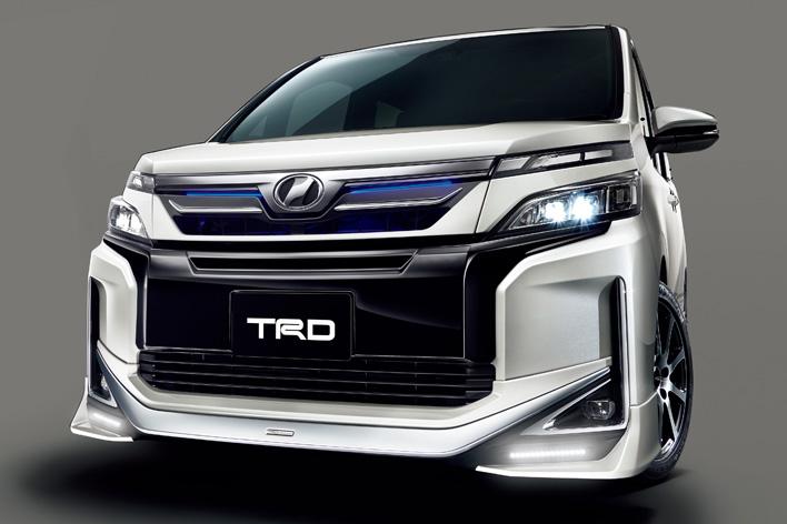 トヨタ新型ヴォクシー(TRD)