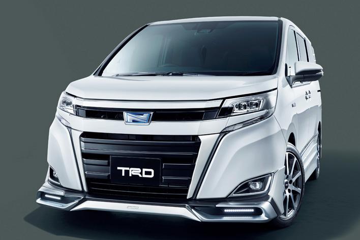 トヨタ新型ノア(TRD)