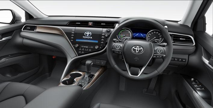 トヨタ新型カムリ2017年7月フルモデルチェンジ新型車解説/内装