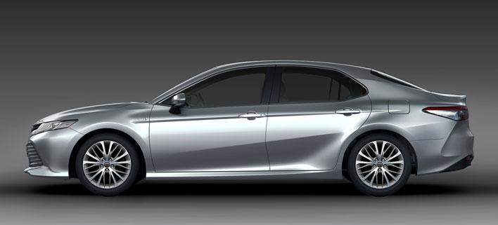 トヨタ新型カムリ2017年7月フルモデルチェンジ新型車解説/渡辺陽一郎/外装