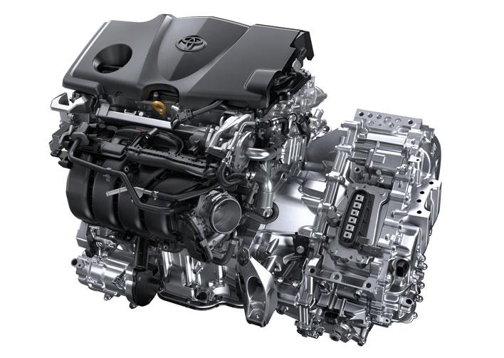 トヨタ新型カムリ2017年7月フルモデルチェンジ新型車解説/渡辺陽一郎/エンジン+モーター