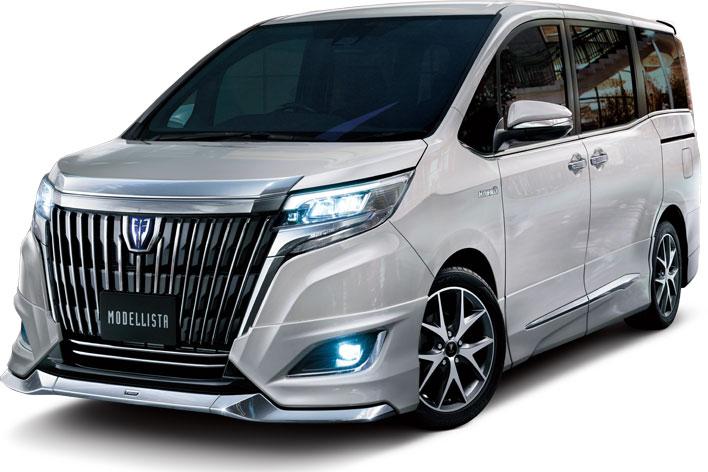 トヨタ新型エスクァイア(モデリスタ)