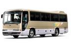 日野、中型バス「メルファ」全車に6速AMTを搭載