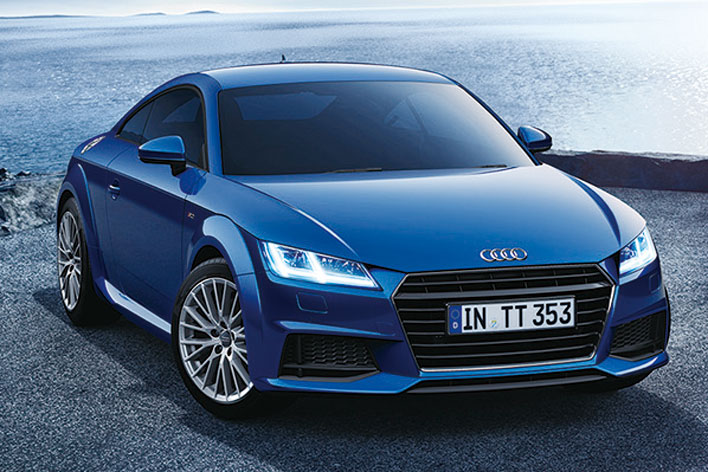 限定モデルAudi TT Coupe 1.8 TFSI lighting style edition