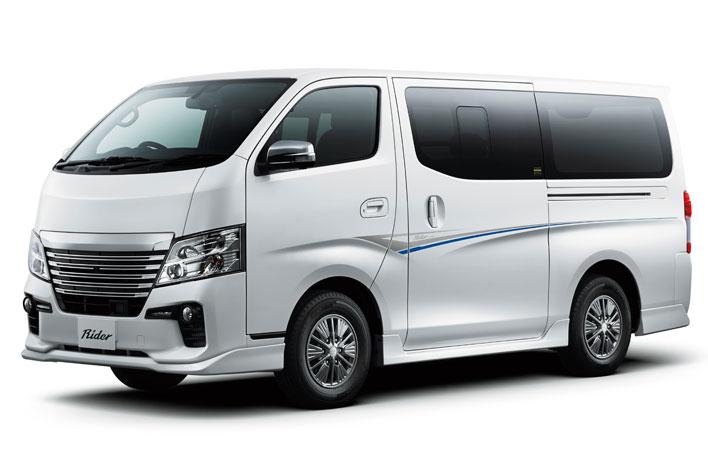 日産新型NV350キャラバン解説/渡辺陽一郎