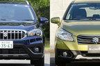デザイン大刷新で人気急上昇!スズキ新型SX4 Sクロスは何が変わった?新旧画像比較