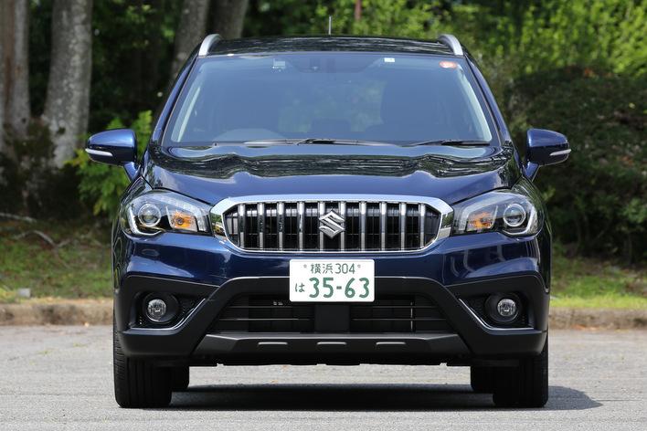 新型SX4Scrossフロント
