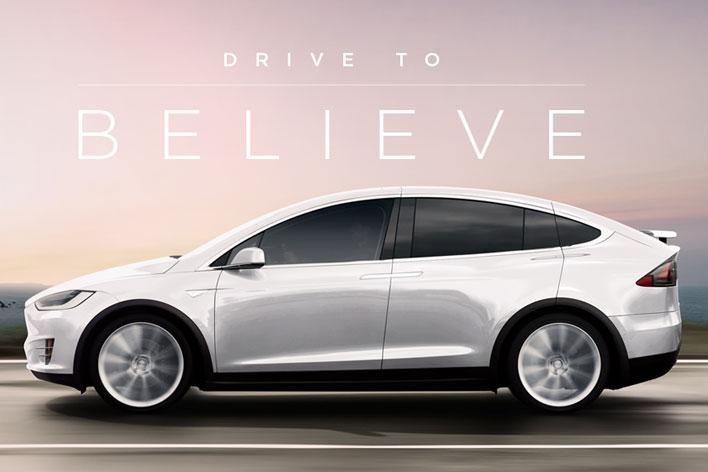 Tesla Drive to Believe