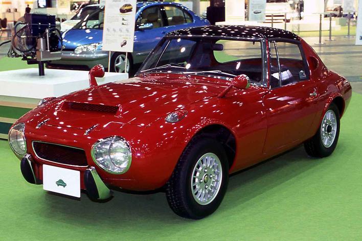 トヨタスポーツ800 ガスタービン ハイブリッド
